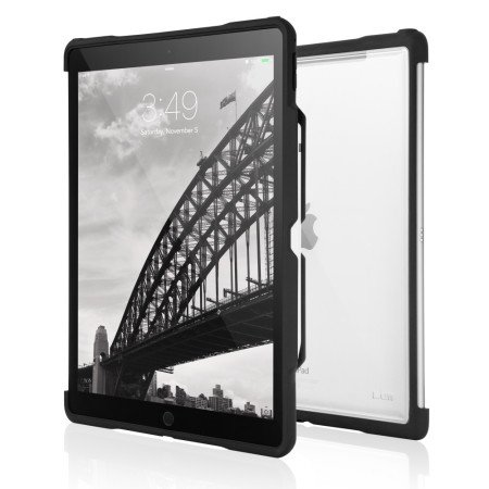 "STM Dux Shell Case für Apple 12,9"" iPad Pro, Schwarz/Transparent"
