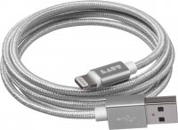 LAUT The Link Metallic Kabel Silber