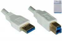 Dinic USB 3.0 Kabel A St. auf B St.