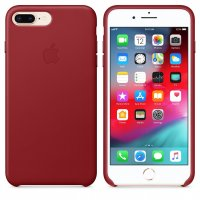 Apple iPhone Leder Case (Product) Red