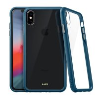 LAUT Accents Tempered Glass Case Dark Teal