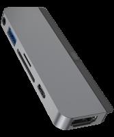HyperDrive Hub 6-in-1 Spacegrau