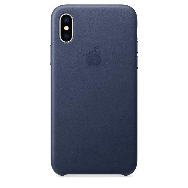 Apple iPhone Xs Leder Case
