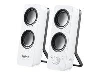 Logitech Z200 Lautsprecher Weiß