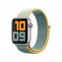 Apple Watch Sport Loop Warmgelb
