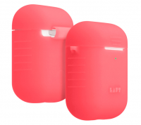 LAUT Pod Neon Case Electric Coral