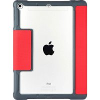 "STM Dux Plus Case für Apple iPad 9,7"" (2017 & 2018) Rot"