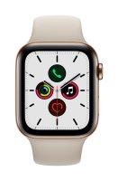 Apple Watch Series 5 Edelstahlgehäuse Gold