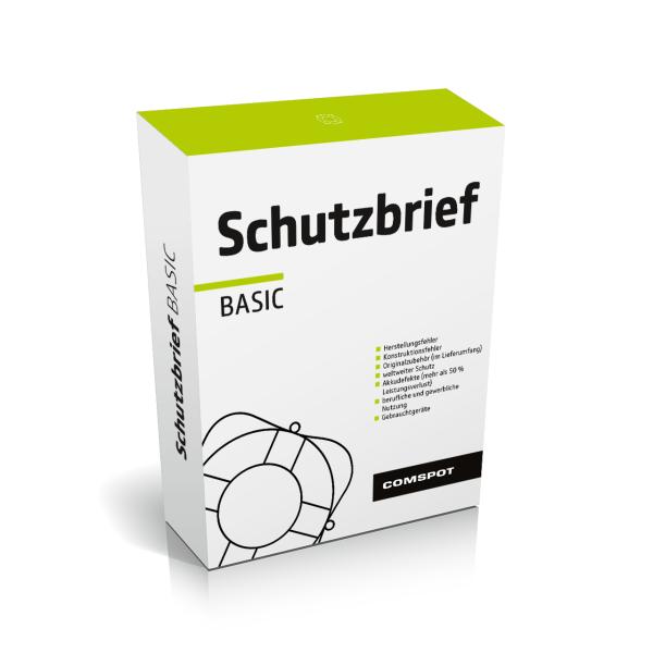 COMSPOT Schutzbrief Basic - Watch / Smartwatch