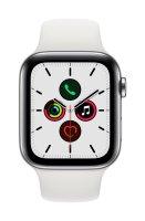Apple Watch Series 5 Edelstahlgehäuse Silber