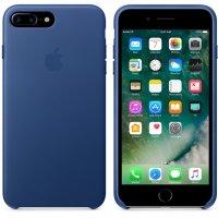 Apple iPhone Leder Case Saphir