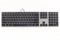 Matias Aluminum USB Tastatur Space Grau